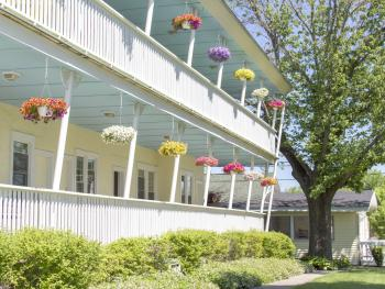 Balconies of the Beach House