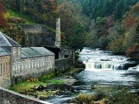 New Lanark World Heritage Site, Lanarkshire