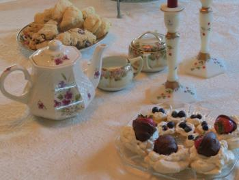 Treats for a tea party