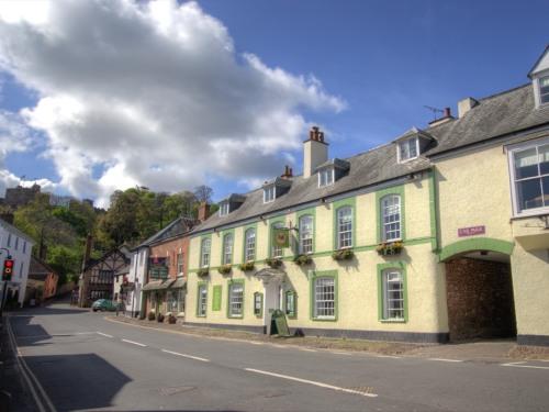 Central in Dunster village