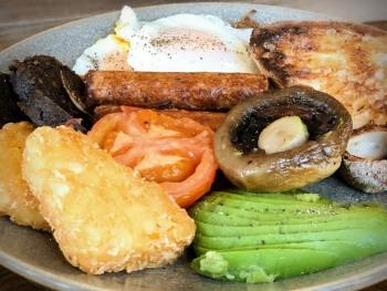 The Queens Veg Patch breakfast