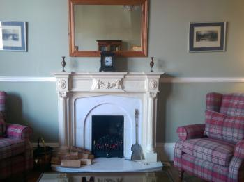 The comfortable Drawing Room at Lochinver Guest House