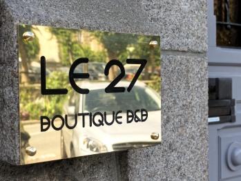 Le 27- Boutique B&B - Accueil