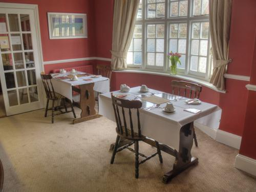 Our lovely refurbished breakfast room