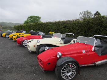 Car clubs enjoy themselves at Highland Moors - DB&B, bar, comfy rooms & friendly service