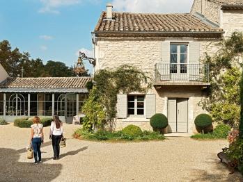 A votre arrivée à La Maison de Line Saint Rémy de Provence