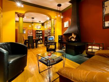 Living room of the B&B