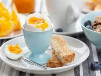 Breakfast every morning from 8am to 9.30am