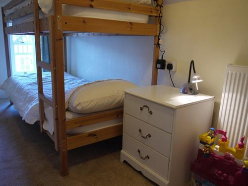 The bunk room makes room 5 a large family room