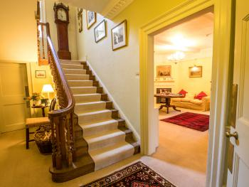 The staircase hall