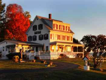Main Building in the Fall