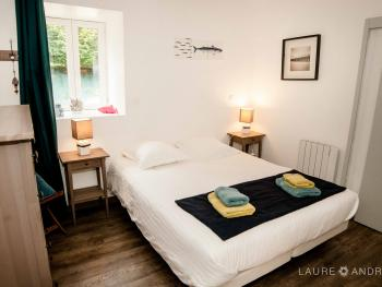 Cottage-Confort-Douche-Vue sur Jardin-Gites de France 4 épis