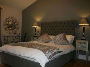 Luxurious surroundings in room five