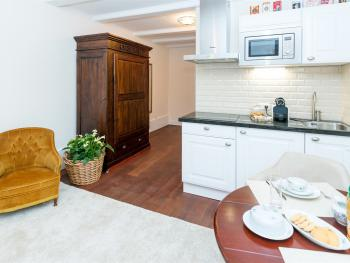 Kitchen in the Guests Room