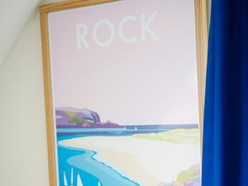 Rock and the Camel Estuary named room 3, superb sandy beach with access to watersports and fishing