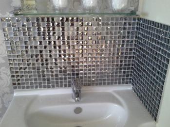 Mosaic splash back