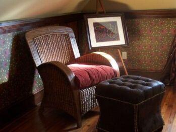William Morris Loft sitting area