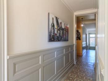 Couloir desservant la maison