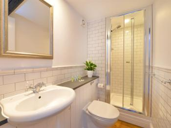 Super modern Bathrooms - a choice of Walk-in Shower & Bath with Shower (Room 3)