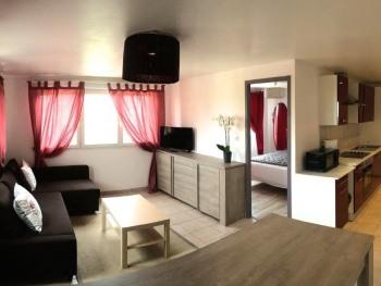 Appartement-Confort-Douche-Vue sur le vignoble
