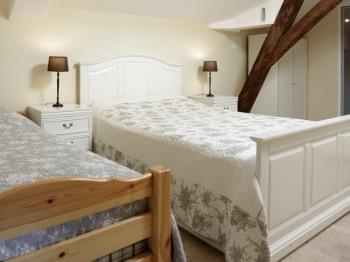 Gîte bedroom (upstairs)