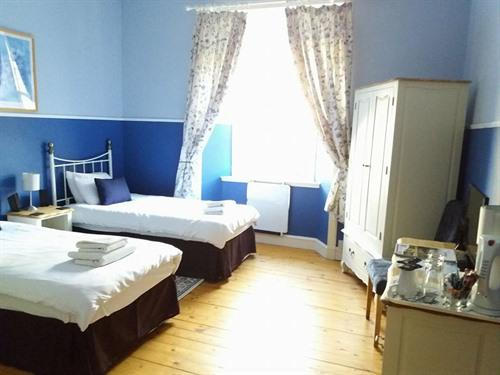 Twin room-Standard-Ensuite-Blue Room
