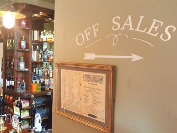 Off Sales are available from our bar.