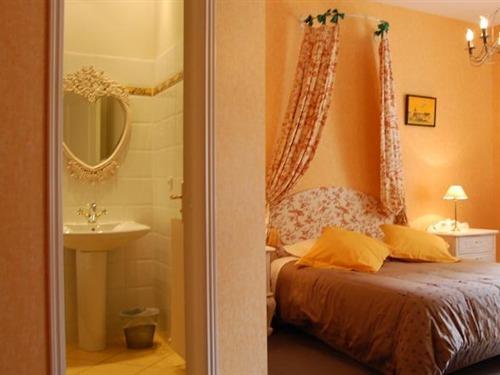 Double-de Luxe-Salle de bain privée séparée-Vue sur Jardin