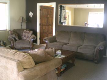 Shared living room in Lodge