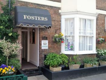 Fosters Guest House - Front in June