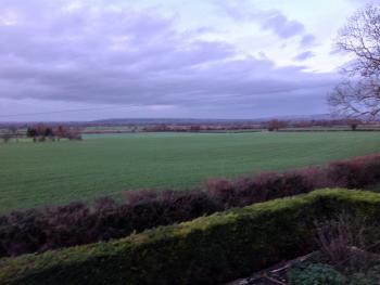 Winter view from Slades Farm