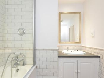 Super modern Bathrooms - a choice of Walk-in Shower & Bath with Shower