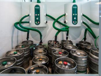 "Our ""Smart Serve"" system ensures a perfect pint every time!"