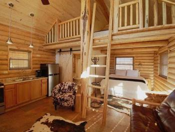 North cabin loft