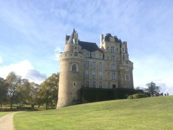 The chateau at Brissac-Quincé