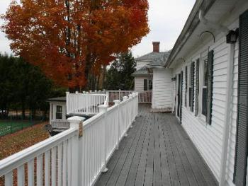 Main Inn back deck