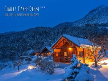 Le Chalet Carpe Diem en hiver
