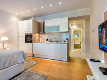 All of our apartments are fitted with fully equipped kitchens