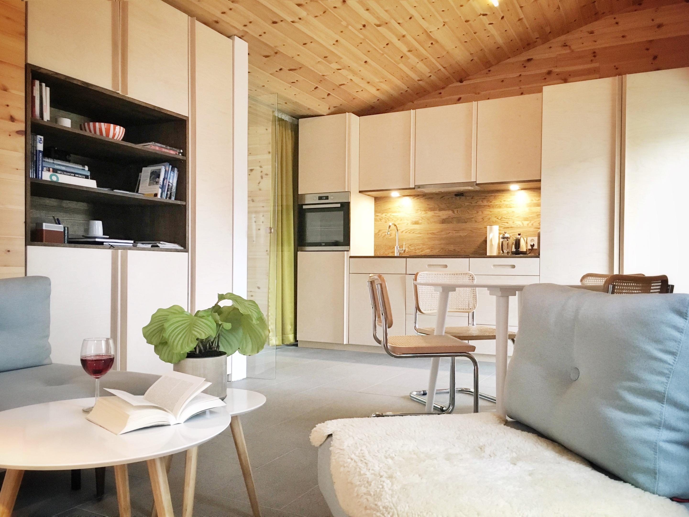 Standard-Apartment-Private Bathroom-Mountain View-Apartment 01  - Basistarif