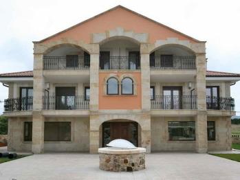 Spa Mies de Rubayo Fachada edificio