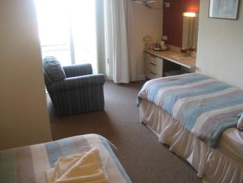 Family Ensuite with Balcony and Seaview - 2 Adults & 1 Child