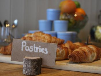 Our fresh pastries served in The Terrace