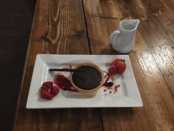 A Choc Pot Dessert