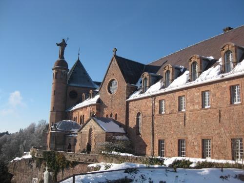 Mont Saint Odile proche de Rosheim