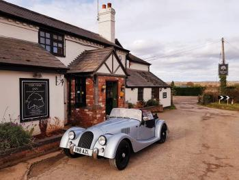 The Morgan Car visitors centre is only 20 minutes away!