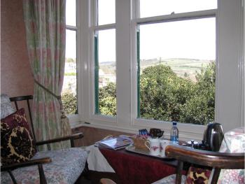 View from our 'Deluxe with view' rooms