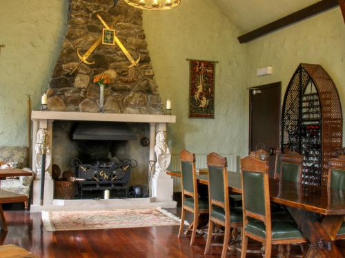 Fireplace in the Breakfast/Dining Room
