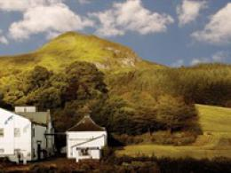 Glengoyne Whiskey distillery