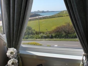 View from Double en-suite room.