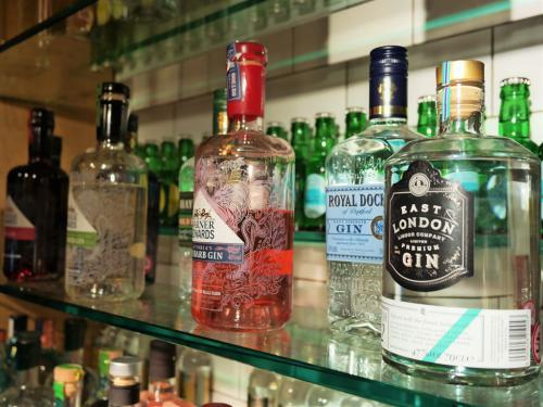 Just a few gins from our exquisite drinks menu. We have something for everyone.